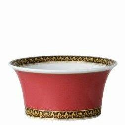 Versace Medusa Red Fruit Dish