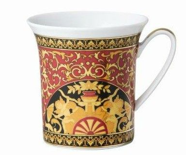 Versace Medusa Red Mug with handle