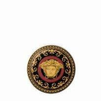 Versace Medusa Red Porcelain Coaster 2 pcs
