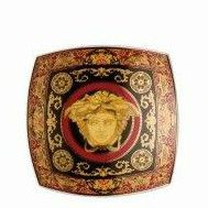 Versace Medusa Red Small Dish 14cm