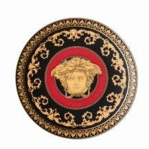 Versace Medusa Red Small Plate 10cm