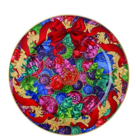 Versace Reflections of Holidays Christmas 2018 Service Plate 30cm