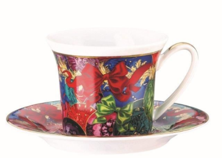 Versace Reflections of Holidays Espresso Cup & Saucer