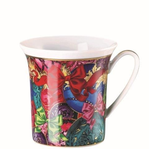 Versace Reflections of Holidays Mug with handle