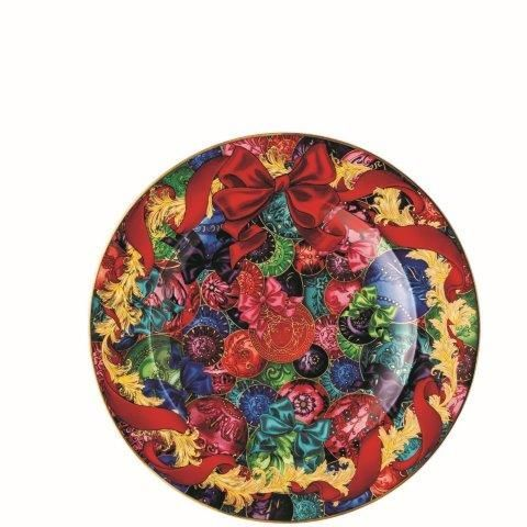 Versace Reflections of Holidays Plate 18 cm