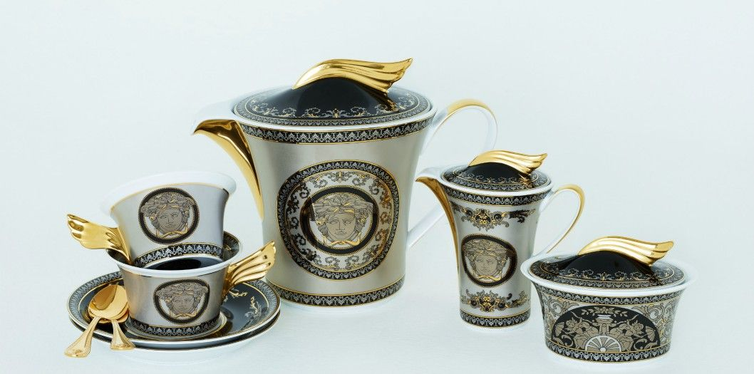 Rosenthal meets Versace 25 years Versace Silver collection limited edition