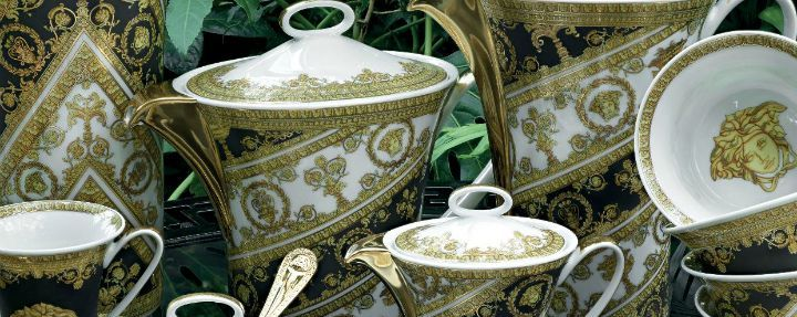 Afternoon Tea With Rosenthal Versace I Love Baroque Teaset